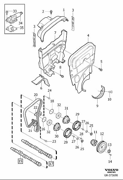 Gr on 2000 Volvo S80 Timing Belt Diagram