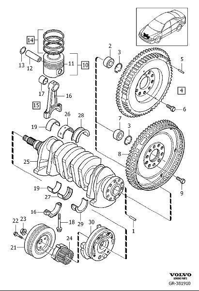 Gr on 1999 Volvo S70 Parts Diagram