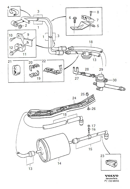 2006 volvo xc90 engine diagram p80 850 fuel line part ? - turbobricks forums #4